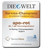 aporot Die Welt - Service Champions
